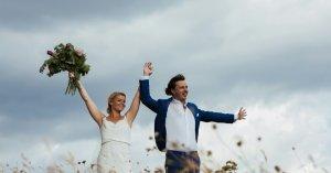 zojuist getrouwd in Urbino