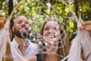 bruidspaar met dromenvanger