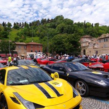 Villa Marsi mille miglia Urbino ferrari tribute