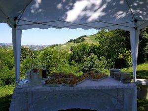 Villa Marsi lunch buffet