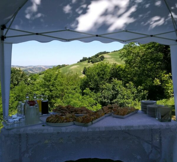 Villa Marsi lunch buffet
