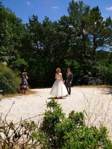 Bruidspaar bij VM