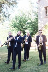 Rossini street quartet in de tuin bij Villa Marsi