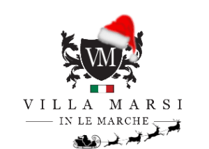 Villa Marsi kerst logo