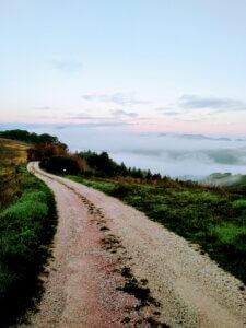 "op weg naar ""the place to be"" agriturismo Villa Marsi"