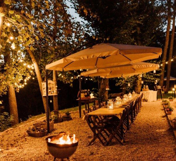 diner tafel Tavolo di Oste