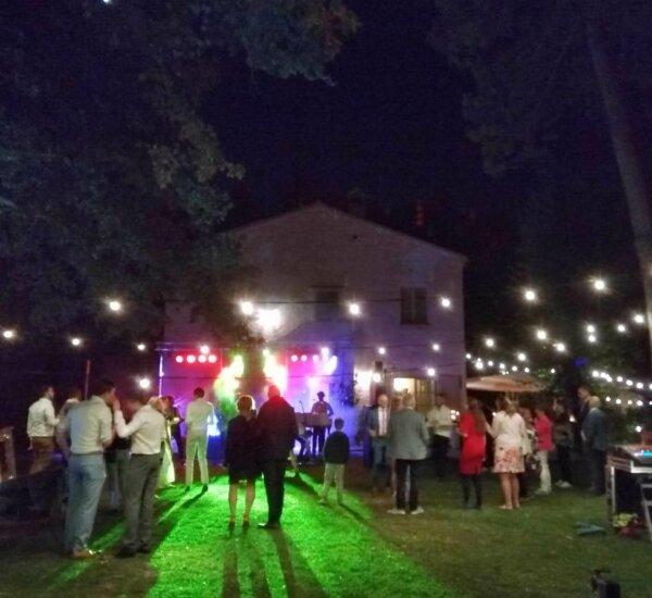 Feestavond Tuin Villa