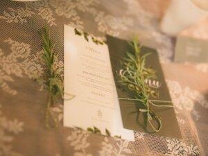 menukaartjes bruiloft